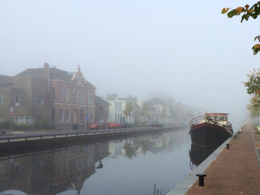 Foggy morining