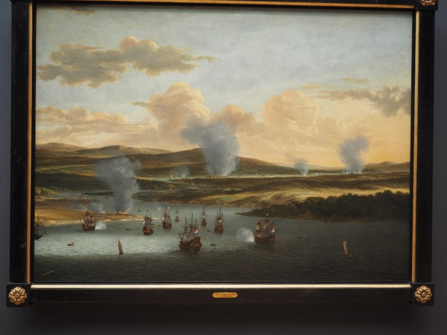 Attack on Chatham - Willem Schellinks (1668)