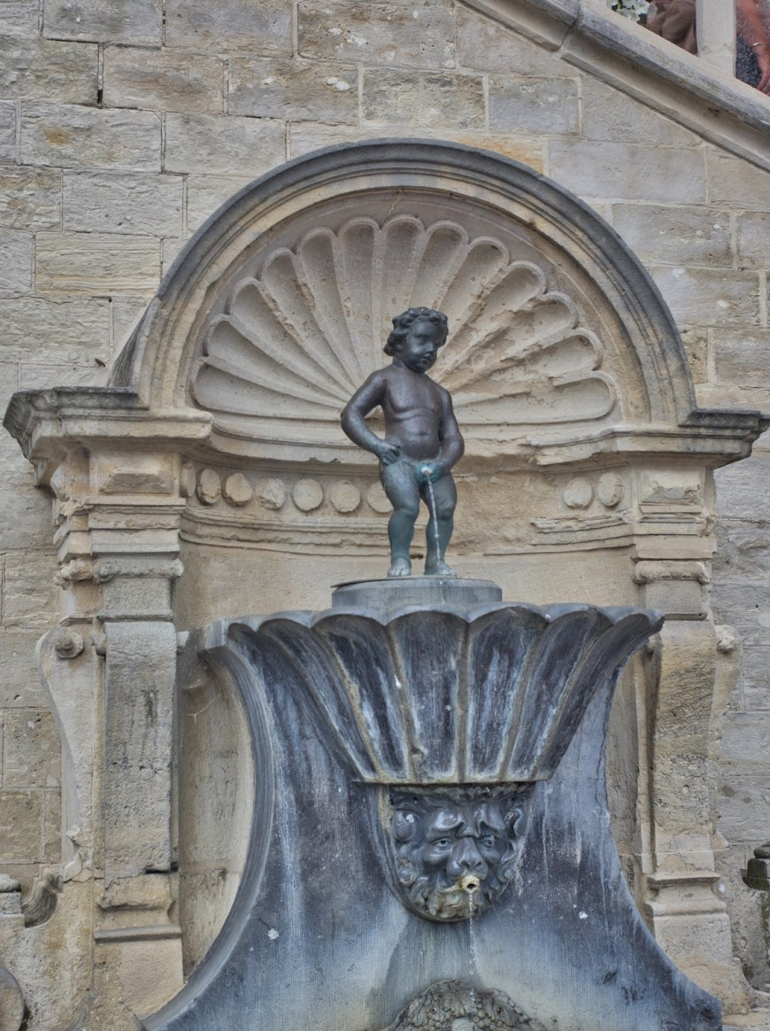 Amazing how popular this statue is in Belgium - come see where the first Manneken Pis was placed.
