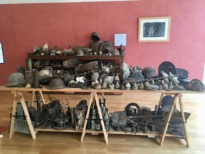 Collection of random artefacts from the battlefields.