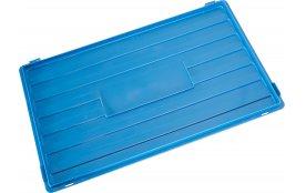 Пластиковая крышка для ящика 600х400 мм KLT Арт.Крышка KLT 600х400
