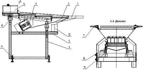 Питатель-отсеиватель вибрационный для мармелада