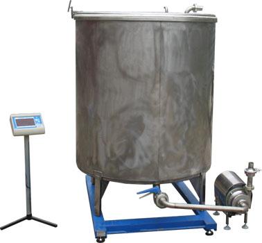 Комплект оборудования для приема и взвешивания молока ИПКС-0125Цн