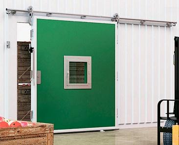 Откатные двери для помещений с регулируемой газовой средой