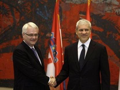 Хорватию и Сербию объединили медалью