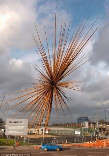 Одна из самых высоких скульптур Англии будет переплавлена