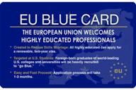Синяя карта для квалифицированных специалистов