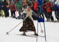 Слалом на дедовских лыжах состоялся в Польше