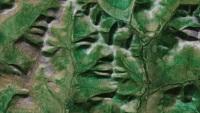 Немецкая программа находит лица, созданные природой на поверхности Земли