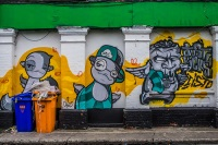 Старинную улицу Дублина украсит стрит-арт
