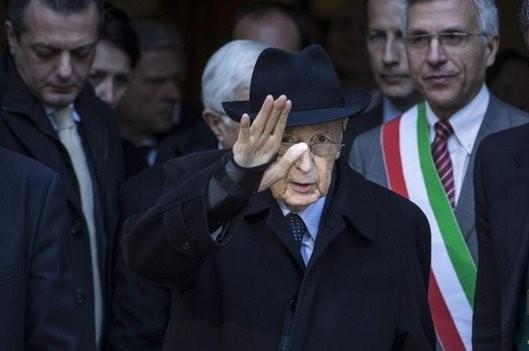 Президент Италии вышел на пенсию