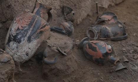 Новое археологическое открытие в Помпеях