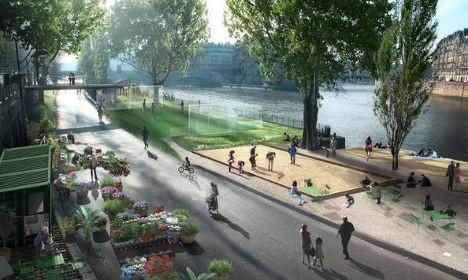 Еще один шаг на пути к трансформации Парижа
