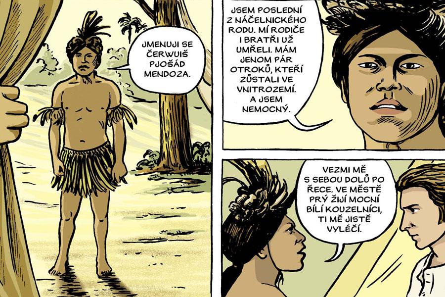 Как создать комикс? Советы чешской художницы Люции Ломовой