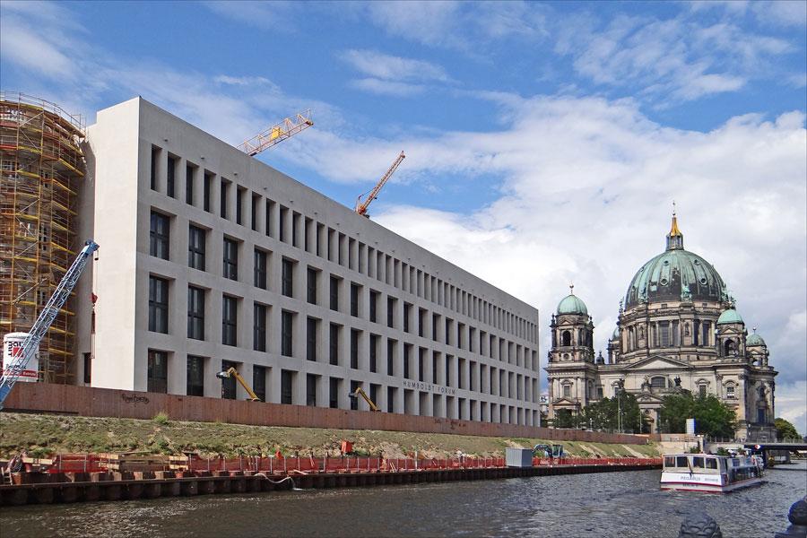 Крупнейший культурный центр Берлина Форум Гумбольдта откроется в 2019 году