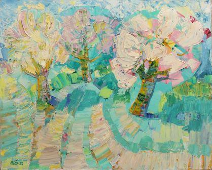 Выставка «Моя земля» латышского художника Валдиса Буша