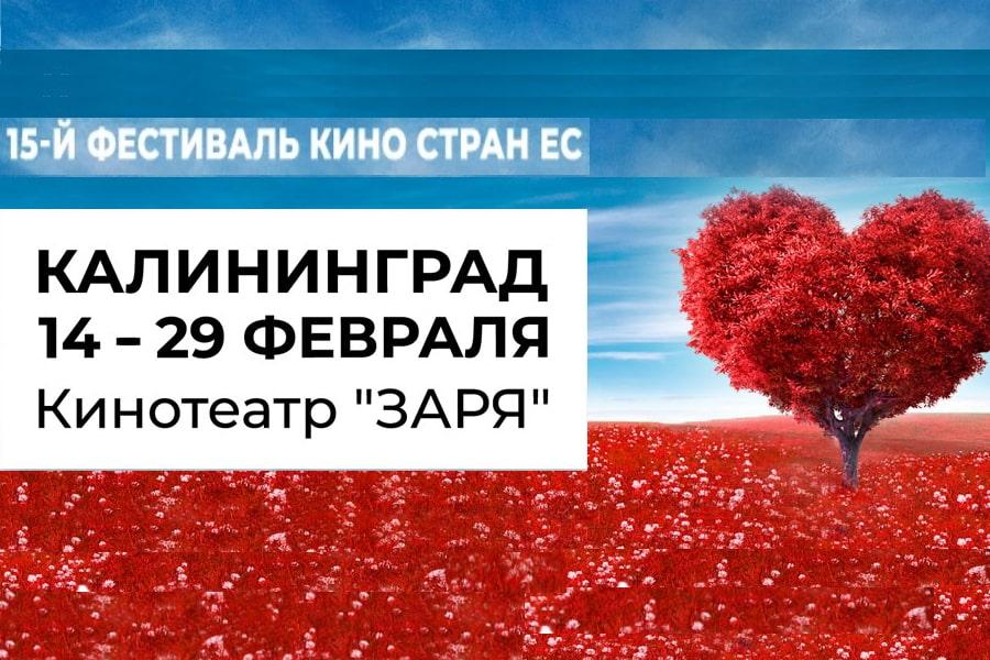 О любви и не только – в День всех влюбленных в Калининграде начнется Фестиваль кино стран Европейского Союза