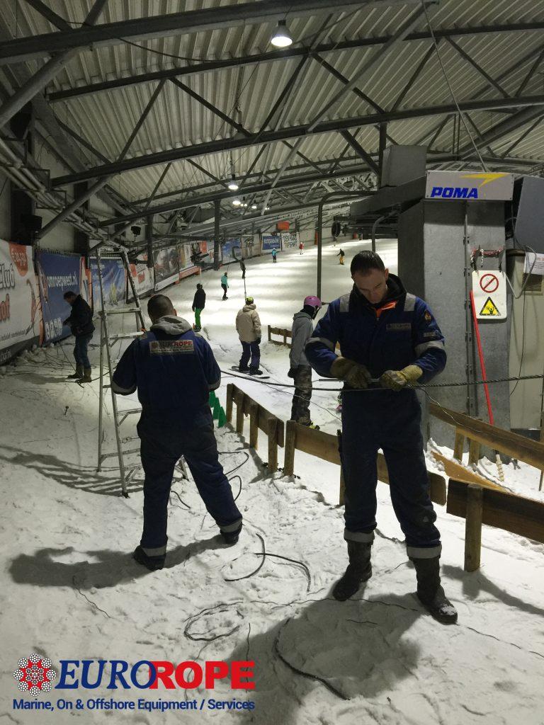 Ski Lift wire ropes