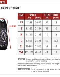 Venum compression shorts size chart also guide europe rh euronum