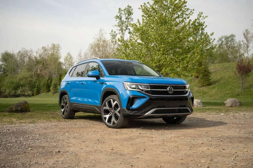 2022 2022 Volkswagen Taos - the compact SUV