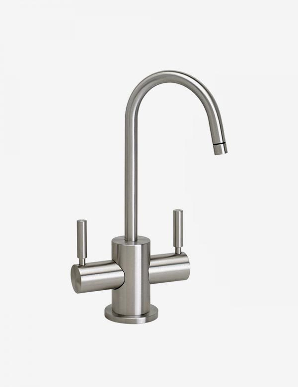 kitchen filter refinish sink waterstone parche hot and cold faucet euro bath