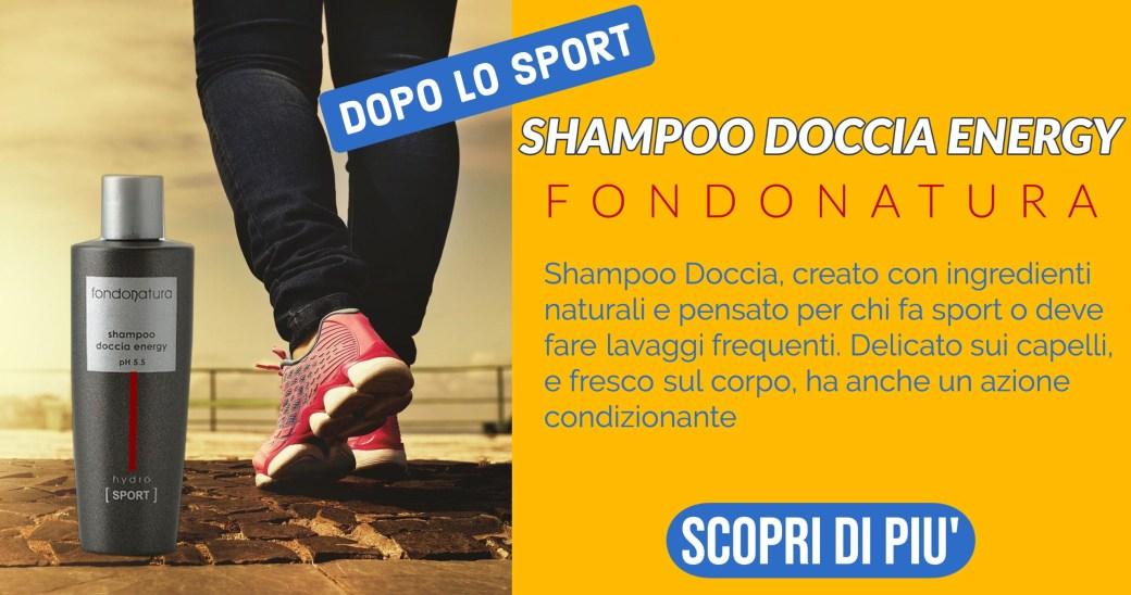 shampoo sport ingredienti naturali