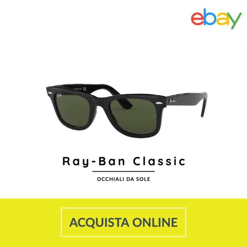 occhiali sole uomo rayban