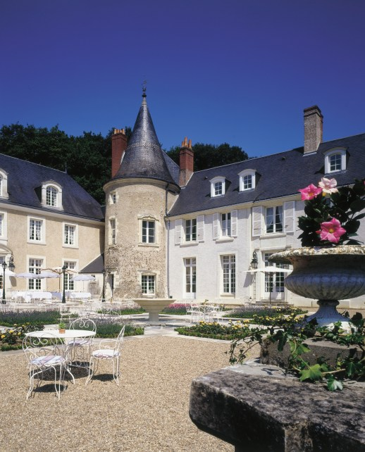 Just one of the many charming hotels we offer in the Loire Valley castle region of France