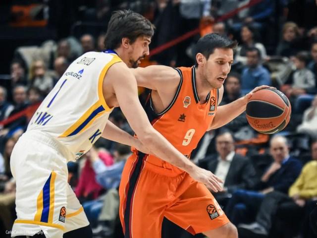 Il Valencia sopravvive agli infortuni e a Shved e batte il Khimki