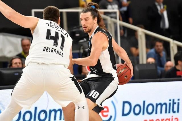 Trento difende ed apre il campo: il giovane e talentuoso Partizan va KO