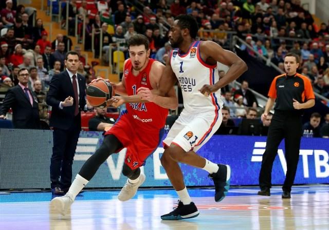 L'Efes regge solo un tempo in casa del CSKA