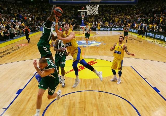 Maccabi cala il poker. Panathinaikos sempre più nel baratro