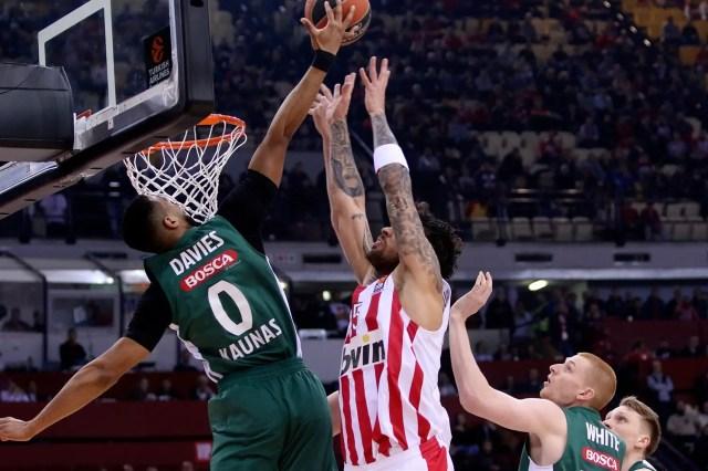 Lo Zalgiris vince ad Atene e si unisce alla festa della lotta Playoffs
