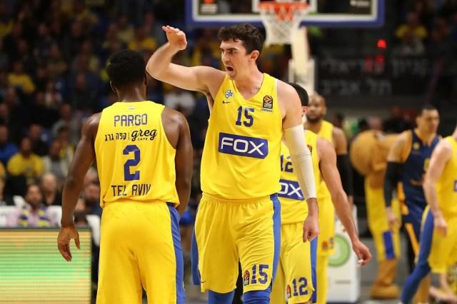 La presenza di Tyus e Black mantengono vivo il sogno Playoff del Maccabi