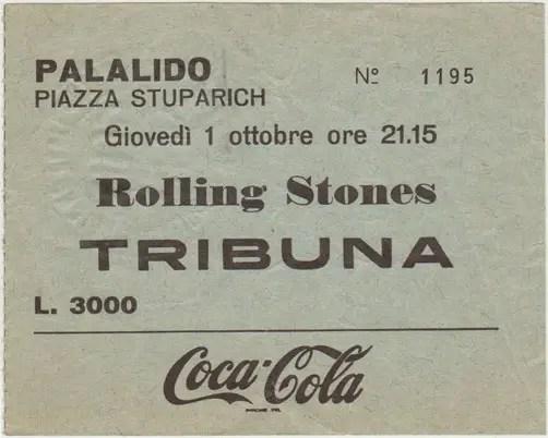 ticket stones