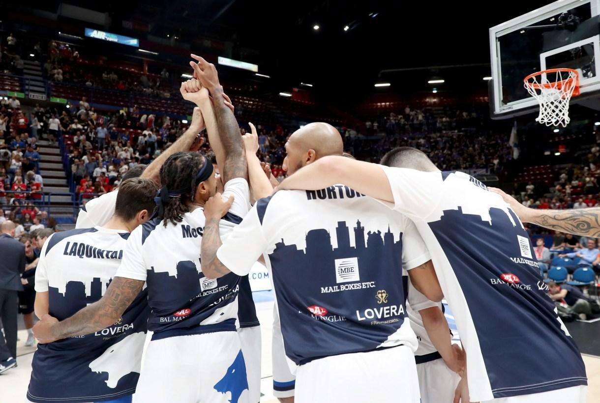 Basket: Milano - Brescia