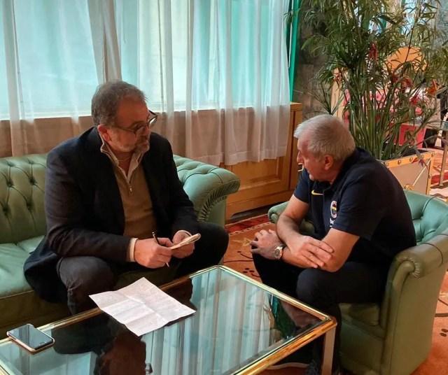 Obradovic : Messina è amico prima che rivale, capisci subito quando una squadra è allenata da lui. Il mio Fenerbahçe? Lavoriamo duramente per crescere