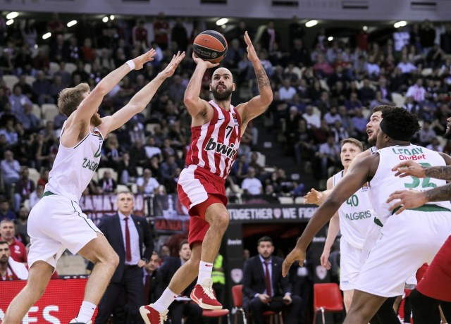 L'Olympiacos rialza la testa