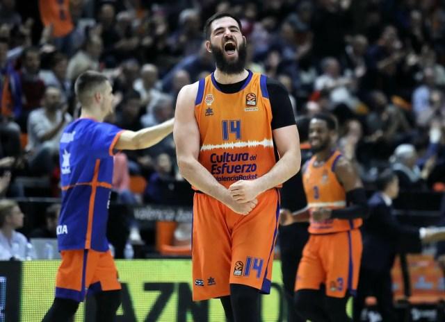 Il Valencia trascinato da un super Dubljevic ha la meglio sul Baskonia