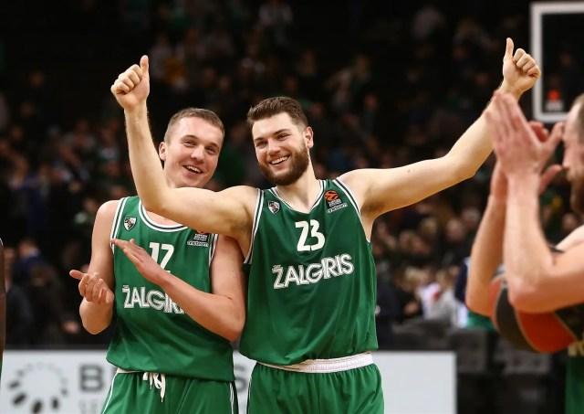 Lo Zalgiris Kaunas travolge l'Olympiacos