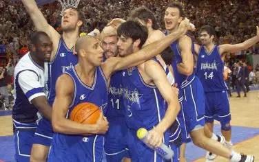 Euro 1999: Parigi si tinge di azzurro