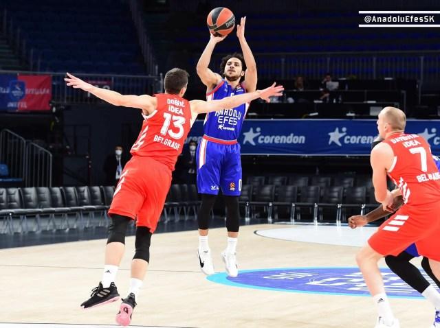 Efes-Stella Rossa: il 22° Round Eurolega è di Larkin, i turchi vogliono essere una big
