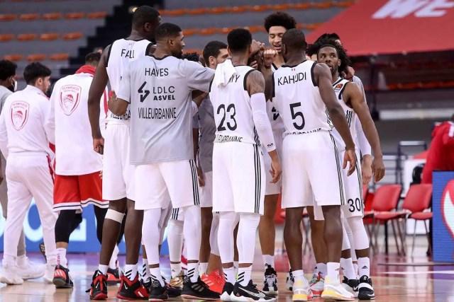 Olympiacos-Asvel: blackout Reds nel 3° quarto decisivo