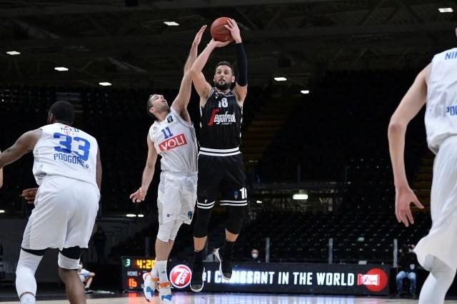 Virtus-Budućnost: nel terzo round delle Top 16 i bianconeri schiacciano i montenegrini