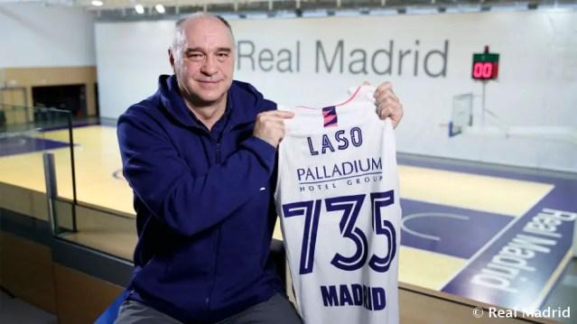 Real Madrid, 735 volte Pablo Laso