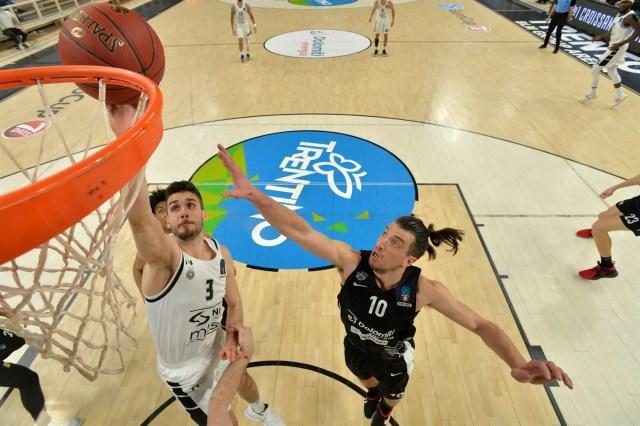 Trento-Partizan(Top 16): L'aquila vola e batte i serbi con una super difesa