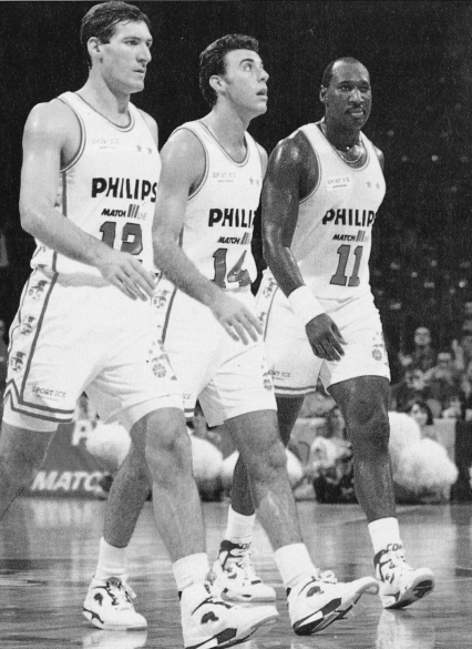 "1992: Zele, Sasha, Mike e ""Chocolate Thunder"""