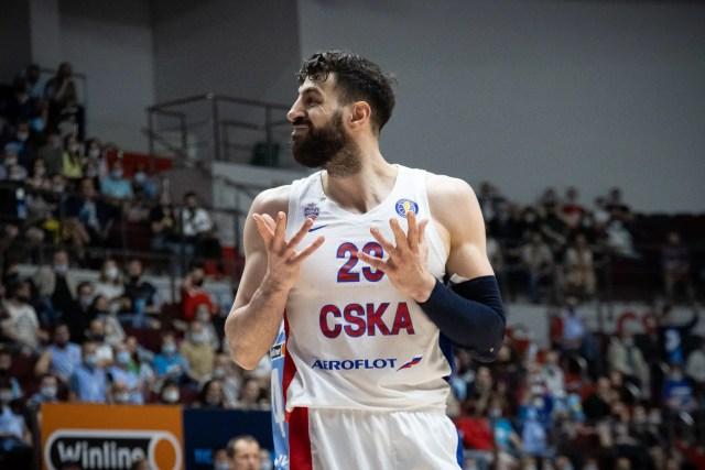 Shengelia CSKA Mosca