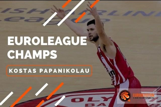 EUROLEAGUE PLAYERS 2012-13: Kostas Papanikolaou è il miglior giovane