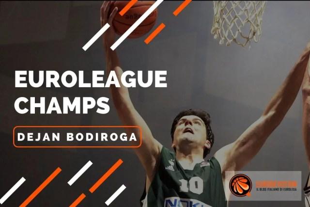 Euroleague Players 2001/02: Dejan Bodiroga e la sua stagione d'oro